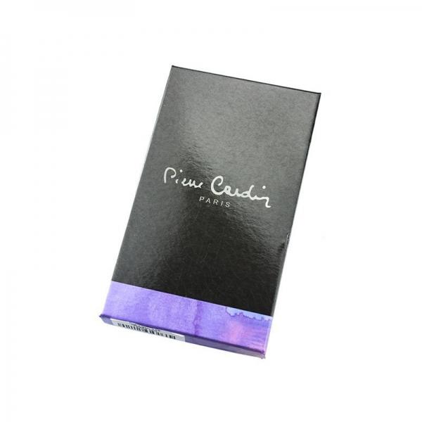 Portofel dama din piele naturala Pierre Cardin PD806 Rosu